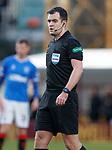 15.12.2019 Motherwell v Rangers: referee Don Robertson