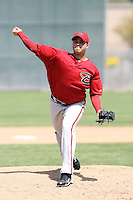 Miguel Pena, Arizona Diamondbacks 2010 minor league spring training..Photo by:  Bill Mitchell/Four Seam Images.