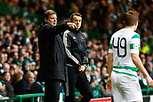 5th December 2017; Glasgow, Scotland; Hein Vanhaezebrouck head coach of RSC Anderlecht during the Champions League Group B match between Celtic FC and Rsc Anderlecht