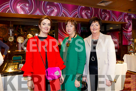 Enjoying the Antique Fair at the Grand Hotel were Suzie Conway, Ann O'Connell and Pasty Maher from Castleisland