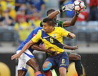 East Rutherford, NJ. -June 12, 2016: during Copa America Centenario Group B match between Ecuador (ECU) and Haiti (HAI) at MetLife Stadium.