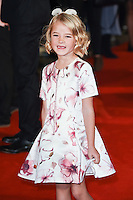 LONDON, UK. October 19, 2016: Florence Clery at the premiere of &quot;The Light Between Oceans&quot; at the Curzon Mayfair, London.<br /> Picture: Steve Vas/Featureflash/SilverHub 0208 004 5359/ 07711 972644 Editors@silverhubmedia.com