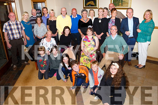 Claire Sheehy, Oakpark Tralee, celebrating her 40th birthday with family and friends at Kerins O'Rahillys Club house on Friday