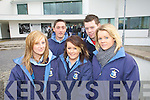 Students from St Josephs secondary school Ballybunion Michelle Rowan, Alan Costello, Crona Barry, Kenneth Tydings and Jacqui O'Connor pictured at the IT Tralee open day on Friday.