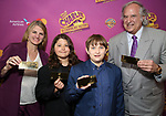 Bonnie Comley, Lenny Lane, Frankie Lane and Stewart F. Lane attends the Broadway Opening Performance of 'Charlie and the Chocolate Factory' at the Lunt-Fontanne Theatre on April 23, 2017 in New York City.