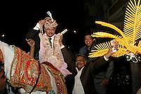 07.12.2008 Delhi(Haryana)<br /> <br /> Groom arrival dsuring a wedding.<br /> <br /> Arrivée du marié pendant un mariage.