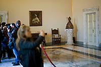 Castel Gandolfo, Rome, Italy, October 21, 2016. L'appartamento pontificio nella residenza di castel Gandolfo diventa un museo dopo la decisione di Papa Francesco di aprirla al pubblico.The Pontif's private apartment at the summer residence in Castel Gandolfo, now open to tourists as a museum.