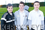 Pictured at IT Tralee Student Enterprise awards on Friday last, were l-r: Conor Duggan, Ed Herlihy and Joshua O'Sullivan, pictured at the Kerry ETB Athletics event at An Riocht, Castleisland on Friday last.