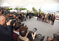 "CANNES, FRANCE. May 19, 2019: Claude Lelouch & Cast at the photocall for ""The Most Beautiful Years of a Life"" at the 72nd Festival de Cannes.<br /> Picture: Paul Smith / Featureflash"