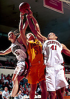 STANFORD, CA - NOVEMBER 21: Bethany Donaphin of the Stanford Cardinal during Stanford's 95-82 win over the Iowa State Cyclones on November 21, 1999 at Maples Pavilion in Stanford, California.