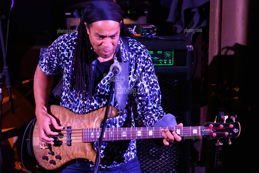 Doug Wimbish with Steal Your Funk  at The Stone Church Brattleboro VT on 7 April 2018