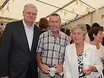 Cllr Frank Maher, Austin Tiernan Halpin Tce and Dymphna Coyle Townrath pictured at the get together after the mass in St Mary's church for the last 3 remaining nuns from Mercy Convent who are leaving. Photo: www.colinbellphotos.com