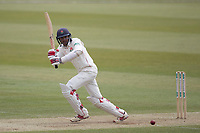 Haseeb Hameed of Lancashire CCC clips through md wicket during Middlesex CCC vs Lancashire CCC, Specsavers County Championship Division 2 Cricket at Lord's Cricket Ground on 12th April 2019