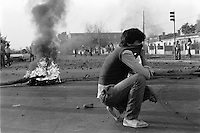 2  Julio 1986<br /> Jornadas de protesta nacional del 2 y 3 de Julio de 1986, en los incidentes mas graves del dia 2 resulto muerta por balas militares una nina de 12 anios en la poblacion Los Copihues de La Florida y los jovenes Carmen Gloria Quintana y Rodrigo Rojas fueron quemados vivos por una patrulla militar en el sector Av. General Velasquez<br /> Forty years ago, on September 11, 1973, a military coup led by General Augusto Pinochet toppled the democratic socialist government of Chile. President Salvador Allende was killed during the  attack to seize  La Moneda presidential palace.  In the aftermath of the coup, a quarter of a million people were detained for their political beliefs, 3000 were killed or disappeared and many thousands were tortured.<br /> Some years later in 1981, while Pinochet ruled Chile with iron fist, a young photographer called Juan Carlos Caceres started to freelance in the streets of Santiago and the poblaciones or poor outskirts, showing the growing resistance against the dictatorship. For the next 10 years Caceres photographed every single protest and social movement fighting for the restoration of democracy. He knew that his camera was his only weapon, he knew that his fate was to register the daily violence and leave his images for the History.<br /> In this days Caceres is working to rescue and organize his collection of images in the project Imagenes de la Resistencia   . With support of some Chilean official institutions, thousands of negatives are digitalized and organized to set up the more complete visual heritage of this  violent period of Chile´s history.<br /> In a time when technology was not very friendly and communications were kind of basic, Juan Carlos Caceres and other photojournalist were always at the right place in the right moment defying the threats of the police. Their work is now  a visual heritage that documents and remind us the fight of Chilean people for democracy.