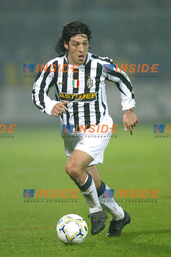 Modena 22/11/2003 <br /> Modena Juventus 0-2 <br /> Mauro Camoranesi<br /> Foto Andrea Staccioli Insidefoto