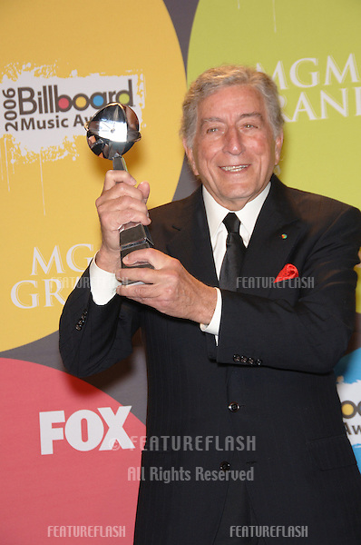 TONY BENNETT at the 2006 Billboard Music Awards at the MGM Grand, Las Vegas..December 4, 2006  Las Vegas, NV.Picture: Paul Smith / Featureflash