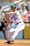 17 March 2007: New York Mets pitcher Chan Ho Park in action against the Washington Nationals on St. Patrick's Day at Tradition Field in Port St. Lucie, Florida...Mandatory Photo Credit: Ed Wolfstein Photo