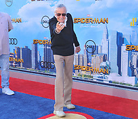 www.acepixs.com<br /> <br /> June 28 2017, LA<br /> <br /> Stan Lee arriving at the premiere of Columbia Pictures' 'Spider-Man: Homecoming' at the TCL Chinese Theatre on June 28, 2017 in Hollywood, California.<br /> <br /> By Line: Peter West/ACE Pictures<br /> <br /> <br /> ACE Pictures Inc<br /> Tel: 6467670430<br /> Email: info@acepixs.com<br /> www.acepixs.com