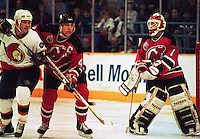 New Jersey Devils Ottawa Senators. Photo F. Scott Grant