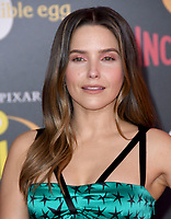 05 June 2018 - Hollywood, California - Sophia Bush. Disney Pixar's &quot;Incredibles 2&quot; Los Angeles Premiere held at El Capitan Theatre. <br /> CAP/ADM/BT<br /> &copy;BT/ADM/Capital Pictures