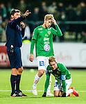S&ouml;dert&auml;lje 2015-10-05 Fotboll Superettan Syrianska FC - J&ouml;nk&ouml;pings S&ouml;dra :  <br /> J&ouml;nk&ouml;ping S&ouml;dras Jesper Svensson och Tommy Thelin deppar under matchen mellan Syrianska FC och J&ouml;nk&ouml;pings S&ouml;dra <br /> (Foto: Kenta J&ouml;nsson) Nyckelord:  Syrianska SFC S&ouml;dert&auml;lje Fotbollsarena J&ouml;nk&ouml;ping S&ouml;dra J-S&ouml;dra depp besviken besvikelse sorg ledsen deppig nedst&auml;md uppgiven sad disappointment disappointed dejected