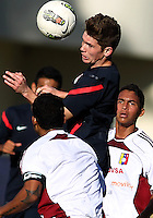 MIAMI, FL - DECEMBER 21, 2012:  Wil Trapp of the USA MNT U20 during a closed scrimmage with the Venezuela U20 team, on Friday, December 21, 2012, At the FIU soccer field in Miami.  USA won 4-0.