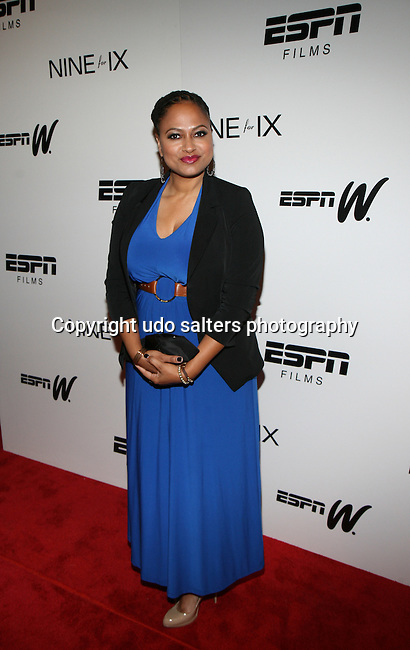 VENUS VS. Director Ava DuVernay Attends New York Special Screening of ESPN Films & espnW's VENUS VS. & COACH (Tribeca Film Festival 'Best Documentary Short' Award-Winner) Held at The Paley Center for Media
