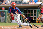 10 March 2006: Kenny Kelly, outfielder for the Washington Nationals, at bat during a Spring Training game against the Houston Astros. The Astros defeated the Nationals 8-6 at Osceola County Stadium, in Kissimmee, Florida...Mandatory Photo Credit: Ed Wolfstein..