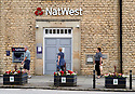 Natwest Bank closed in Town in Oxfordshire in the Cotswolds during Lockdown as British Government restrictions are eased. CREDIT Geraint Lewis