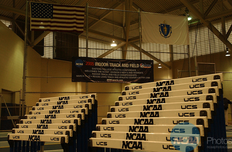 12 March 2005: NCAA Division II Indoor Track and Field Championship held at the Reggie Lewis Field House in Boston, MA. Jim Mahoney/NCAA Photos