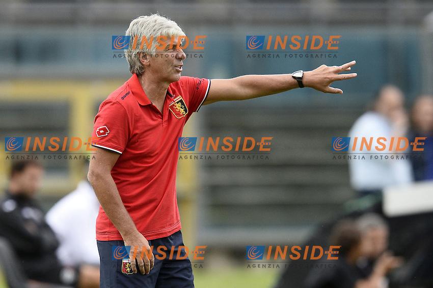 Gian Piero Gasperini Genoa <br /> <br /> Brescia 26-07-2014 Stadio Mario Rigamonti  <br /> Calcio 2014/2015 Brescia - Genoa <br /> Foto Daniele Buffa / Image/ Insidefoto