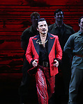 "Jon Jon Briones during The Opening Night Curtain Call Bows for the New Broadway Production of ""Miss Saigon"" at the Broadway Theatre on March 23, 2017 in New York City"