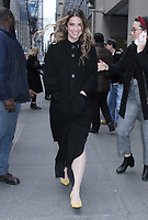 NEW YORK, NY - January 16: Annie Murphy seen at NBC's  Today Show to promote the new season of Schitt's Creek on January 16, 2019 in New York City.  Credit:RW/MediaPunch