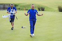 Ian Poulter (Team Europe) during the sunday singles at the Ryder Cup, Le Golf National, Paris, France. 30/09/2018.<br /> Picture Phil Inglis / Golffile.ie<br /> <br /> All photo usage must carry mandatory copyright credit (&copy; Golffile | Phil Inglis)