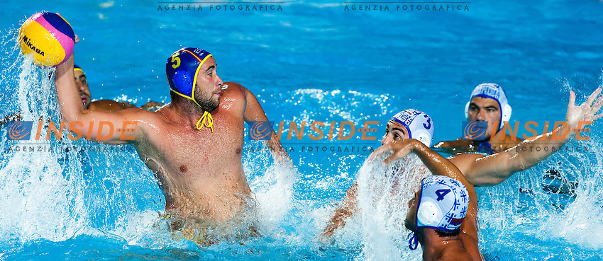 Roma 1st August 2009 - 13th Fina World Championships From 17th to 2nd August 2009.Water Polo Men.Gold Medal Match..SRB 14 - 13 ESP..photo: Roma2009.com/InsideFoto/SeaSee.com