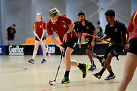 New Zealand Secondary Schools Floorball Championships at ASB Sports Centre, Wellington, New Zealand on Saturday 30 March 2019. <br /> Photo by Masanori Udagawa. <br /> www.photowellington.photoshelter.com
