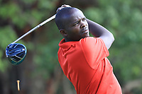 Tony Umuli (KEN) in action during the first round of the Magical Kenya Open, Karen Country Club, Nairobi, Kenya. 14/03/2019<br /> Picture: Golffile | Phil Inglis<br /> <br /> <br /> All photo usage must carry mandatory copyright credit (&copy; Golffile | Phil Inglis)