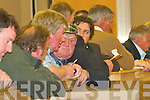 Jackie Healy Rae at the South Kerry Election count in The Malton Hotel, Killarney, last Friday..