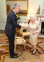 Queen Private Audience at Buckingham Palace