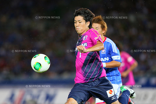 Toru Araiba (Cerezo), SEPTEMBER 14, 2013 - Football / Soccer : <br /> 2013 J.LEAGUE Division 1, 25th Sec <br /> match between Yokohama F Marinos 1-1 Cerezo Osaka<br />  at Nissan Stadium in Kanagawa, Japan. (Photo by AFLO SPORT) [1156]