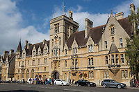 UK, England, Oxford.  Balliol College, Broad Street.