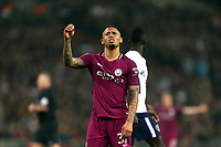 Gabriel Jesus of Manchester City during Tottenham Hotspur vs Manchester City, Premier League Football at Wembley Stadium on 14th April 2018