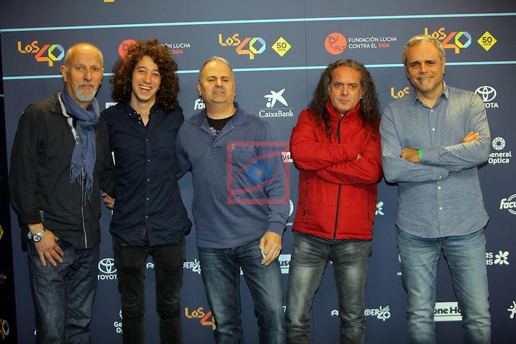 Los 40 MUSIC Awards 2016 - Photocall.<br /> Sopa de Cabra.