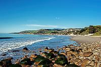 A beautiful January day at El Capitan State Beach, near Santa Barbara, California.