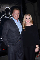 BURBANK, CA - FEBRUARY 05: Arnold Schwarzenegger, Heather Milligan at the Premiere Of Warner Bros. Pictures' 'The 15:17 To Paris' at Steven J. Ross Theater/Warner Bros Studios Lot on February 5, 2018 in Burbank, California. <br /> CAP/MPI/DE<br /> &copy;DE//MPI/Capital Pictures
