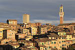 Siena home to the 2019 Strade Bianche running 184km from Siena to Siena, held over the white gravel roads of Tuscany, Italy. 8th March 2019.<br /> Picture: Eoin Clarke | Cyclefile<br /> <br /> <br /> All photos usage must carry mandatory copyright credit (© Cyclefile | Eoin Clarke)