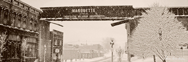 photos, pictures, images of Marquette Michigan, Marquette, MI,trestle,trellis,home of nmu,bridge,