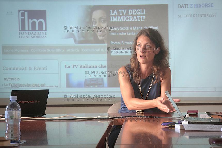 Palermo, centro studi dei gesuiti &quot;Istituto Arrupe&quot;: la direttrice Nicoletta Purpura <br /> Palermo, institute of Political Education of the Jesuits &quot;Pedro Arrupe&rdquo;