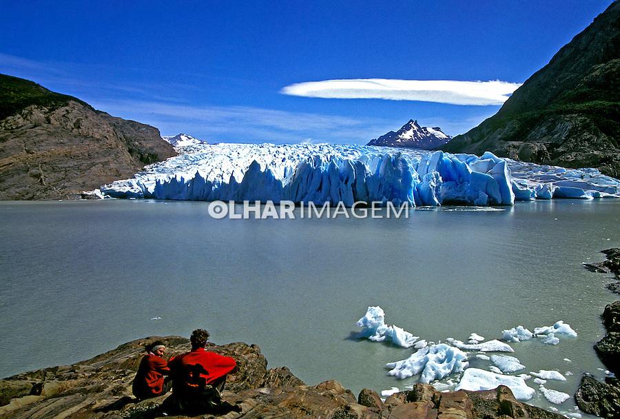 Parque Nacional de Los Glaciares. Patagônia. Chile. 1995. Foto de Stefan Kolumban.
