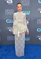 Kate Bosworth at the 23rd Annual Critics' Choice Awards at Barker Hangar, Santa Monica, USA 11 Jan. 2018<br /> Picture: Paul Smith/Featureflash/SilverHub 0208 004 5359 sales@silverhubmedia.com